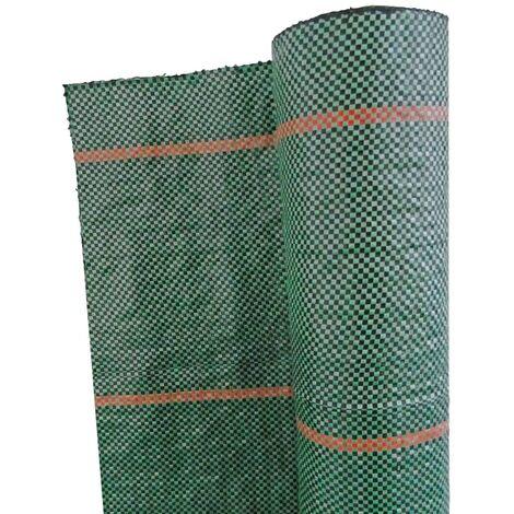Nature Malla antihierbas verde 2,1x 25 m