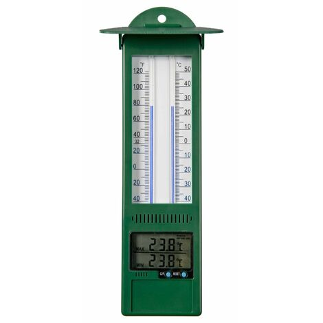 Nature Outdoor Min-max Thermometer Digital 9.5x2.5x24 cm