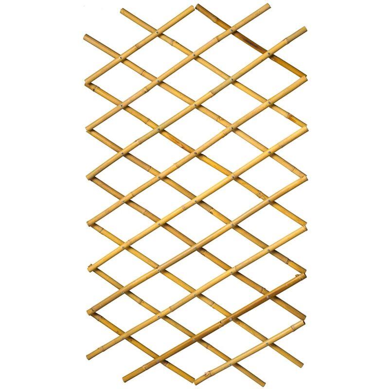 Palissade de jardin 100 x 200 cm bambou - Nature