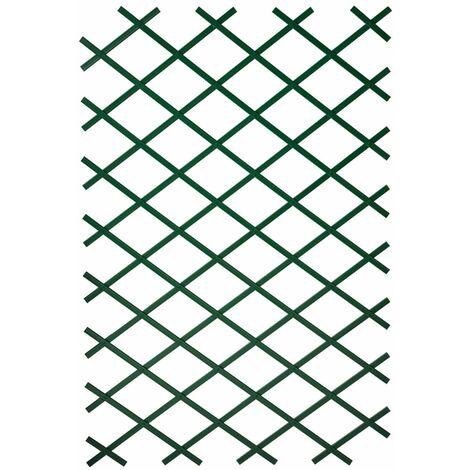 Nature Palissade de jardin 100 x 200 cm PVC Vert