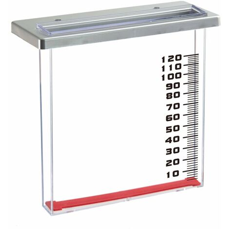 Nature Rain Gauge for Balcony 21.5x9x20 cm