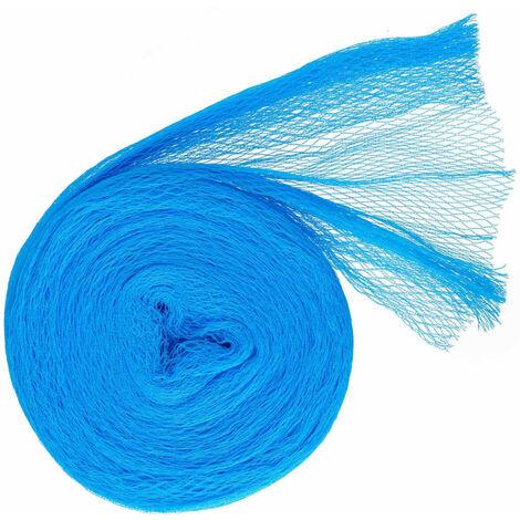 Nature Red protectora de pájaros Nano azul 5x4 m