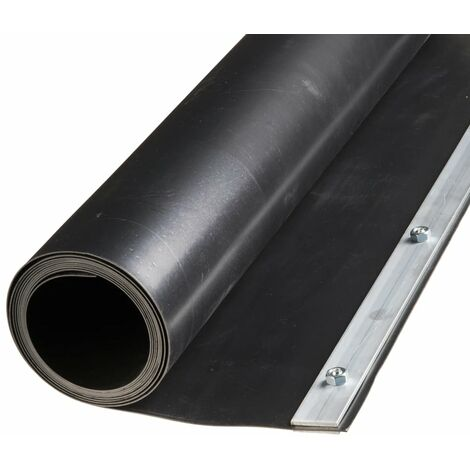 Nature Root Barrier Sheet 0.7 x 5 m HDPE Black 6030227