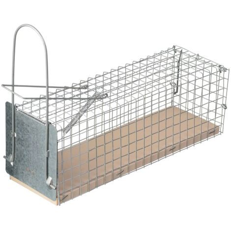 Nature Trampa para ratones 27,5x9,5x9,5 cm 6060105