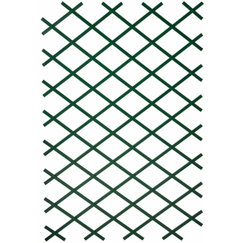 True Deal - Nature Treillis de jardin 100 x 300 cm PVC Vert