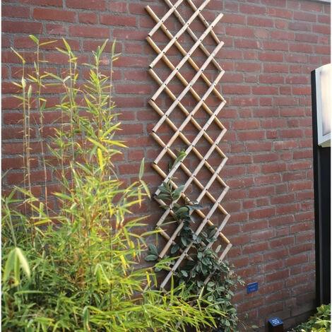 NATURE Treillis extensible en bambou 70x180cm - Marron