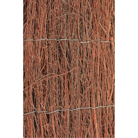 Nature Valla cañizo de jardín de brezo 1x5 m 1 cm de grosor