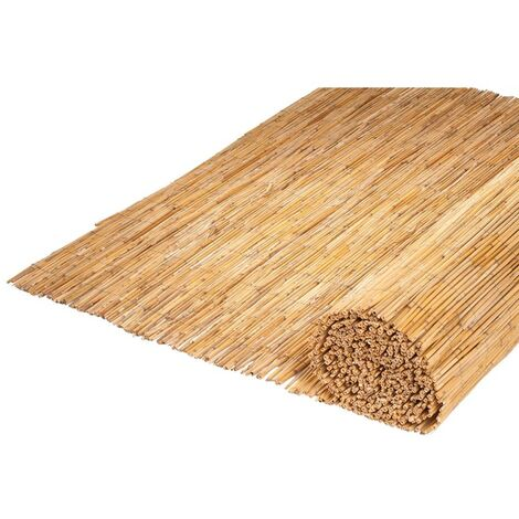 Nature Valla de jardín 500x100 cm cañizo de bambú 6050125