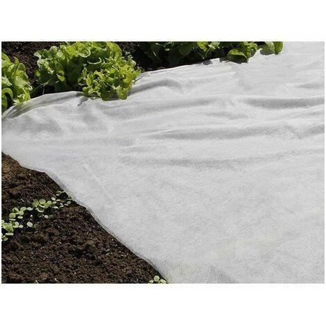 NATURE Voile de forçage 30 g/m² - 2 x 100 m - Blanc