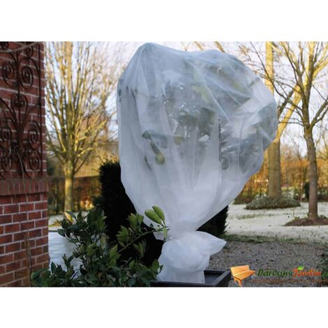 Nature Winter Fleece Cover 30 g/m² White 1x10 m - White