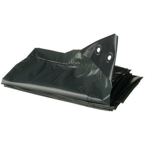 Nature Wood Tarpaulin 3x4 m PE Green 6072418
