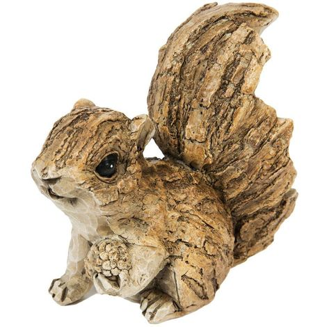 Naturecraft Collection Resin Squirrel Figurine - 11cm