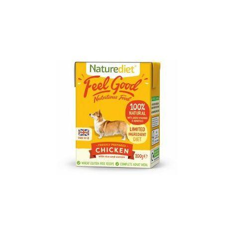 Naturediet Feel Good Chicken 200g - 200g - 610955