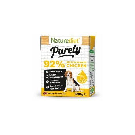 Naturediet Purely Chicken - 390g - 586298