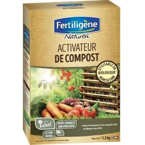 NATUREN - Activateur compost - granules - 1.5 Kg