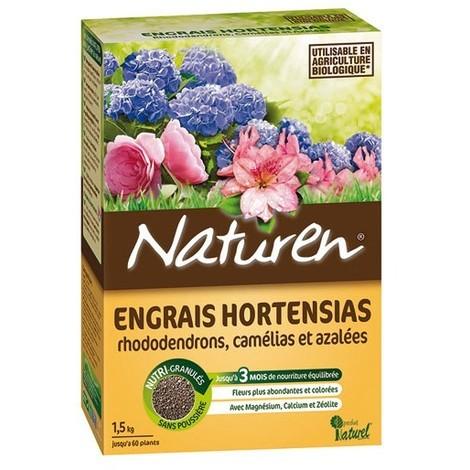 NATUREN - Engrais hortensias 1,5 kg