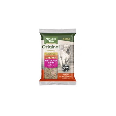 Natures Menu Chicken & Salmon Complete 300g Mince (290735)