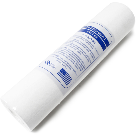 Naturewater 10Inch - 254mm 5µ Sediment Filter PP Water Cleaner