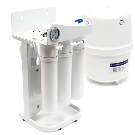 Naturewater 5-stages reverse osmosis (RO) 180l/day NW-RO50-G1-1 with frame, gauge, without pump