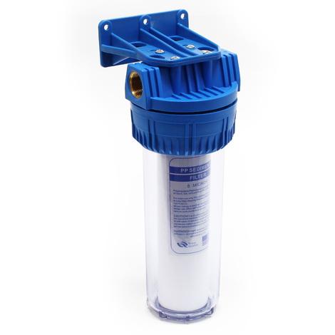 """Naturewater NW-BR10A 1 etape système filtre 32.89mm (1"""") 60mm cartouche polypropylène, clamp et clé"""