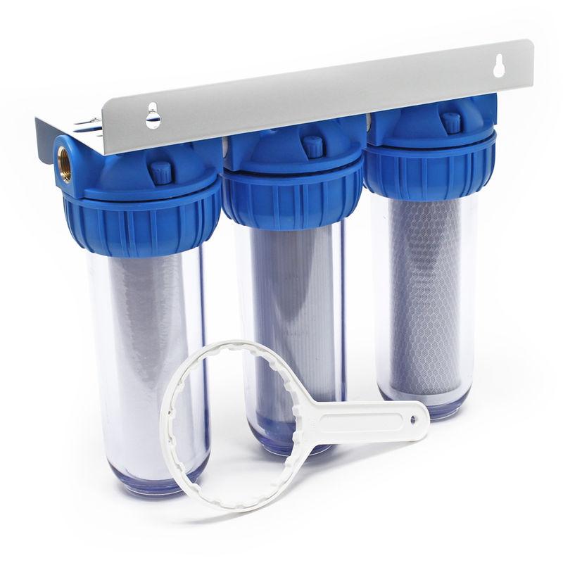 """ioni negativi e membrana osmosi 50 GPD FILTRO di ricambio 7 livelli 10/"""" OSMOSI INVERSA"""