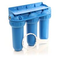 """Naturewater NW-BR10B5 3 etapes système filtre 32.89mm (1"""""""") filtre à sédiments, bloc charbon actif"""