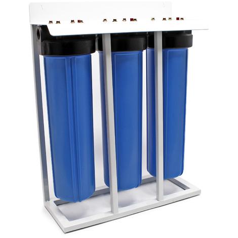 """Naturewater NW-BRL03-LS3 3 etapes système filtre 32.89mm (1"""") avec filtre de charbon actif"""