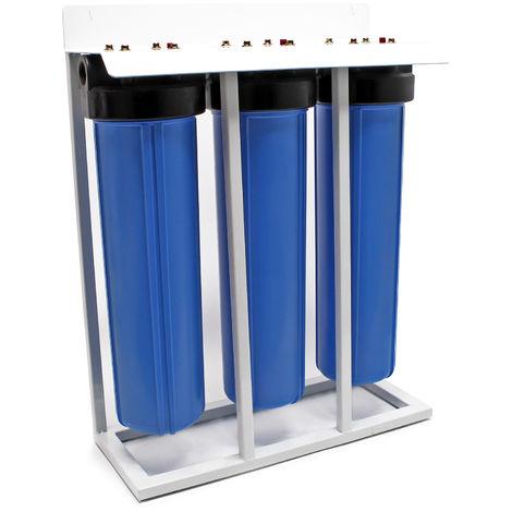 """Naturewater NW-BRL03-LS3 Filtro agua 3-etapas 32.89mm (1"""") Cartucho fibras-PP y carbón activado"""