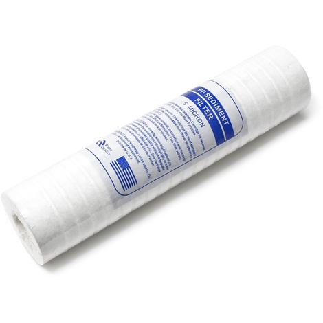 """Naturewater PP-10B 10"""" 5µ cartouche polypropylène diamètre 60mm filtre à eau"""