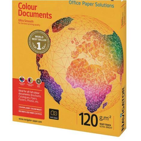 Navigator A4 Colour Docs White Paper 120GSM (250)