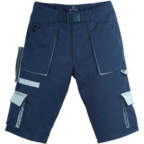 NAVY Short de travail avec ceinture Coverguard