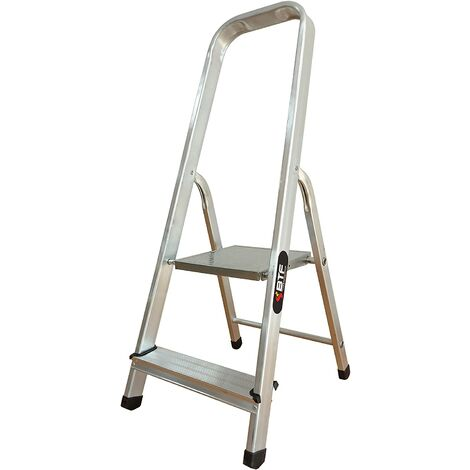 Nawa Escalera Domestica de Aluminio 2 Peldaños EN 131 Capacidad M·x. 150 kg