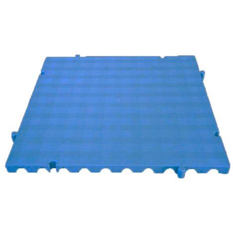 Náyade® Block Losa Tarima desmontable 50x50x2,5 cm. Color Azul. Sin Orificio. *4 Uds. *1m2.