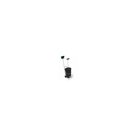 Náyade System® Street Cleaning Cart-ECO PLUS Carro de limpieza viaria + cubo y tapa 120 Lt.