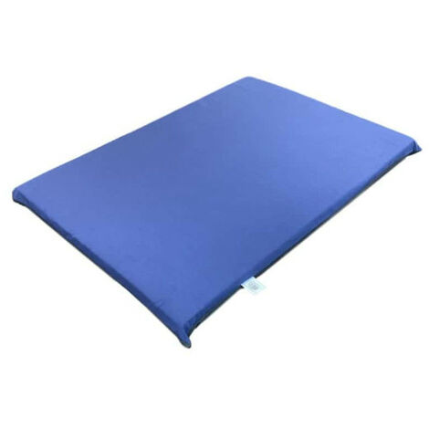 NAYECO foam mattress for dogs and cats - Blue - 90x60x8cm