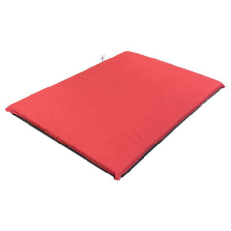 NAYECO foam mattress for dogs and cats - Red - 80x55x5cm
