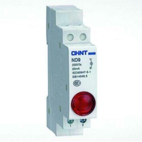ND9-R230 LED MODULAIRE SPY 115-230V RED594113