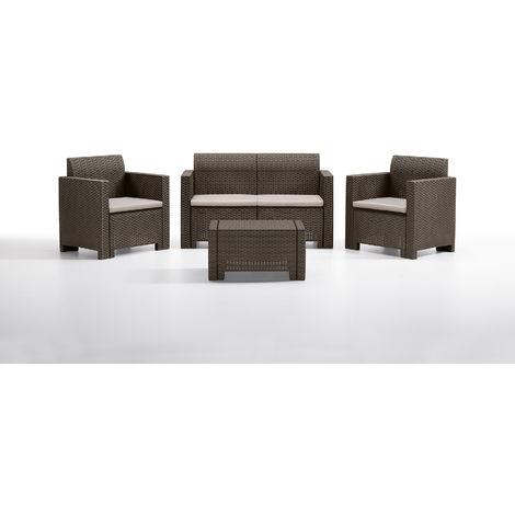 Nebraska Luxury Rattan Furniture Set - 2 Colours Available