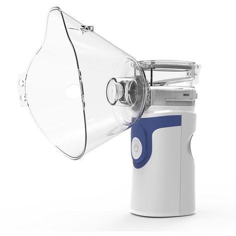 Nebulizador de inhalacion silenciosa, dispositivo de atomizacion ultrasonica,Azul