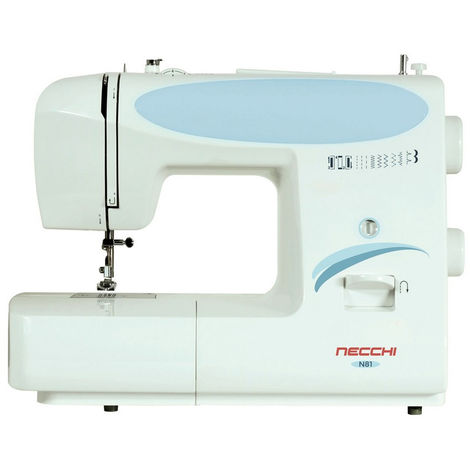 Necchi macchina da cucire meccanica per cucito cucitrice 7 punti c/ luce led N81