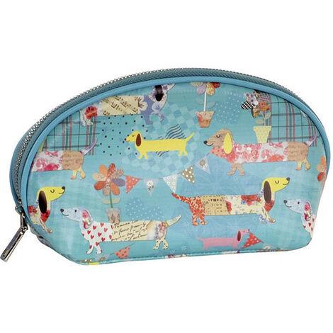 Neceser Viaje Infantil, 3 Originales Modelos a elegir. Diseño Colorido/Animales 23X8X12 cm.-Hogarymas- Azul claro