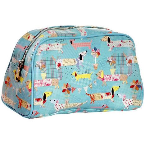 Neceser Viaje Infantil, 3 Originales Modelos a elegir. Diseño Colorido/Animales 25X12,5X16 cm.-Hogarymas- Azul claro
