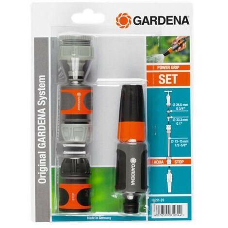 """Nécessaire d'arrosage 13 mm (1/2"""") et 15 mm (5/8"""") - GARDENA 18291-20"""