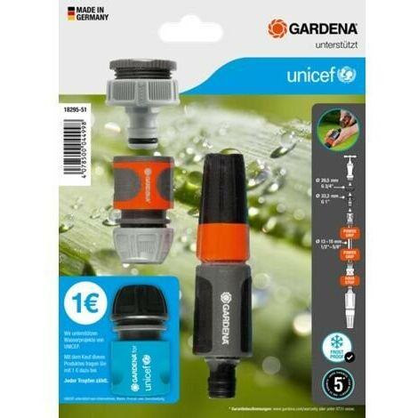 Nécessaire de base pour l'arrosage Gardena - Edition au profit d'UNICEF