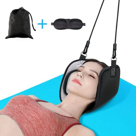 Neck Hammock Cervical Hammock Massage, Portable Relaxation Hammock Massager, Hanging Strap for Pain Relief, Adjustable Length