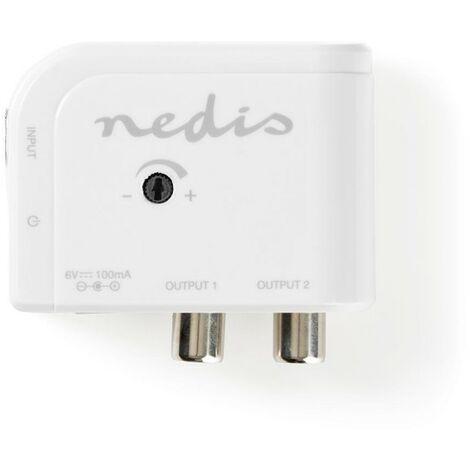 NEDIS Amplificateur TV 15 dB 50 - 790 MHz 2 Sorties
