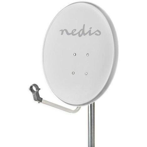 NEDIS Antenne Parabolique 80 cm 39,8 dB Angle de 28°