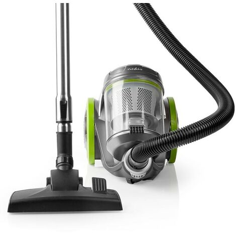 NEDIS Aspirateur Sans Sac Vert Réservoir 3.5L 700 W Classe ACAA Filtre HEPA 12 Rayon d'action 8m - Vert