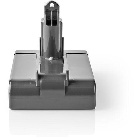 Nedis Batterie d'aspirateur | Convient pour: Dyson DC35 / Dyson DC57 | Li-Ion | 22.2 VDC | 2000 mAh | 44.4 Wh NE550702005
