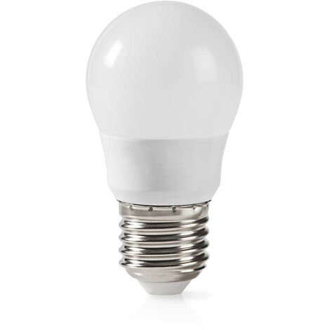 Nedis Bombilla LED E27   G45   5,8 W   470 lm NE550677956